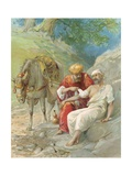 The Good Samaritan Giclee Print by Ambrose Dudley