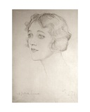 Miss Gertrude Lawrence, 1924 Giclee Print by Violet Manners