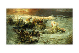 The Reuniting of the Waters, 1900 Giclee Print by Frederick Arthur Bridgman