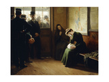 Departure of Prisoners; Depart de Prisonniers, 1906 Giclee Print by Remy Cogghe