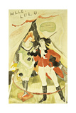 The Animal Tamer Presents, 1918 Giclee Print by Charles Demuth