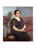 Portrait de Madame Dubois, 1922 Giclee Print by Theo Van Rysselberghe