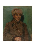 A Defender of Moscow, 1941 Giclee Print by Natalia Aleksandrovna Gippius