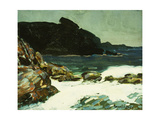 The Ledge, Cape Elizabeth, Maine, 1922 Giclee Print by George Luks