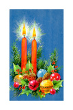 Christmas Candles, 1970 Giclee Print by Stanley Cooke