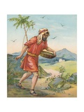 The Sower Giclee Print by Ambrose Dudley