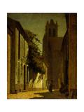 Street Scene, Moret, 1906 Giclee Print by Frederick John Mulhaupt