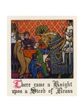 Chaucer: The Squire's Tale Giclee Print by Walter Appleton Clark