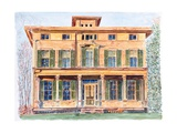 Italianate House NY, 2012 Giclee Print by Anthony Butera