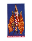 The Royal Standards and Union Jack, 1937 Giclee Print