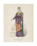 Queen in 1360 Giclee Print by  French School