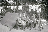 Women's Battalion, St Petersburg, 1917 Photographic Print by  Russian Photographer