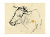 Cow, 1940s Giclee Print by Natalia Aleksandrovna Gippius