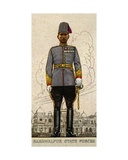 Major of the Bahawalpur State Forces, Indian Princely States, 1938 Giclee Print
