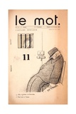 L'Affaire Desclaux, Cover of 'Le Mot' Magazine, Februrary 20 1915 Giclee Print by Paul Iribe