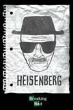Breaking Bad - Heisenberg wanted Plakát