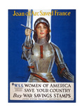 Joan of Arc Saved France, 1918 Giclee Print by William Haskell Coffin