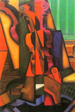 Juan Gris Violin and Guitar Prints by Juan Gris