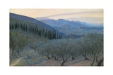 Sunrise, Umbria, 1914 Giclee Print by William Blake Richmond