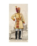 Captain of the Bikanir State Forces, Indian Princely States, 1938 Giclee Print