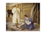 The Nativity, 1925 Giclee Print by Arthur Joseph Gaskin