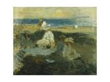 On the Beach, c.1903 Giclee Print by Walter Frederick Osborne