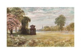 Cenotaph at Stoke Poges Giclee Print by Francis S. Walker