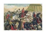 Battle of Las Navas de Tolosa Giclee Print by Juan Serra y Pausas