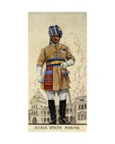 Lieutenant-Colonel of the Baria State Forces, Indian Princely States, 1938 Giclee Print