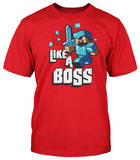 Youth: Minecraft - Like A Boss Shirt