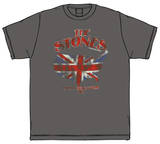 The Rolling Stones - Union Jack U.S. Map '81 T-Shirt