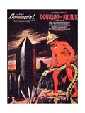 Cover of 'La Baïonnette' Magazine, July 29 1915 Giclee Print by Jules Alexandre Gruen or Grun