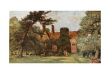 Stoke Poges Manor Giclee Print by Francis S. Walker