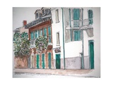 New Orleans, Gov. Nichols and Royal St, 1998 Giclee Print by Anthony Butera