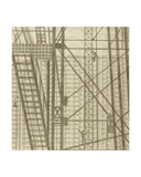 Installation of Metal Constructions, 1976 Giclee Print by Masabikh Akhunov