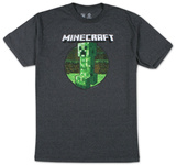 Minecraft - Retro Creeper (slim fit) T-shirts
