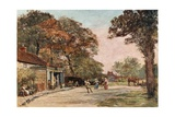 Kingbury Green, London Giclee Print by Francis S. Walker