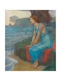 Ariadne on the Isle of Naxos Giclee Print by Edward Reginald Frampton