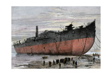 Wrecked Hull of the Steamship