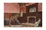 The Hall at Stoke Poges Manor Giclee Print by Francis S. Walker