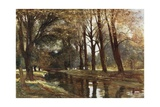 The Poets' Walk at Eton Giclee Print by Francis S. Walker