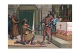 The Oath of Santa Gadea Giclee Print by  Spanish School