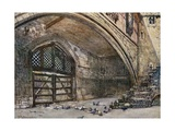Traitors' Gate, from Within Giclee Print by John Fulleylove