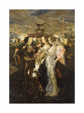 The Judgement of Paris, 1909 Giclee Print by Friedrich Stahl