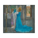 Isabella and the Pot of Basil Giclee Print by Edward Reginald Frampton