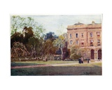 The Deer Park, Magdalen College, New Buildings Giclee Print by William Matthison