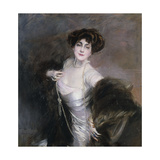 Portrait of Diaz Albertini, 1909 Giclee Print by Giovanni Boldini