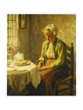 Grace before the Meal, 1927 Giclee Print by Evert Pieters