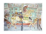 New Orleans, Carousel, 1998 Giclee Print by Anthony Butera