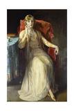 Mrs. W.N. Radford, 1929 Gicléetryck av Sir John Lavery